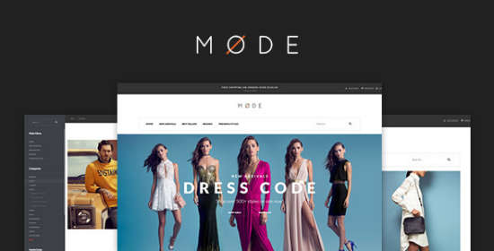 pav mode modern fashion opencart theme