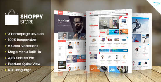 shoppystore responsive multipurpose opencart theme