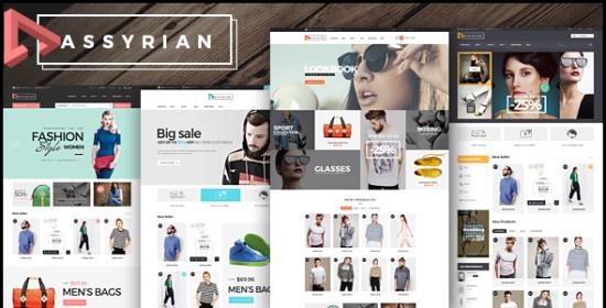 assyrian responsive fashion opencart 2 theme