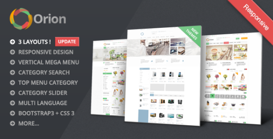 orion mega shop responsive opencart theme