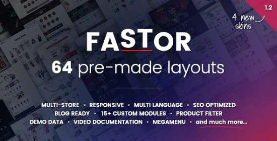 fastor multipurpose responsive opencart theme