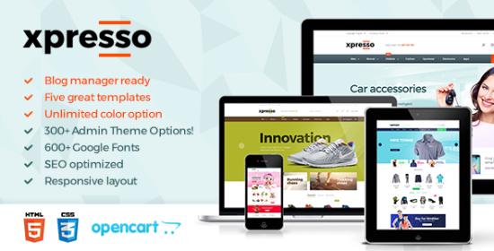 xpresso responsive multipurpose opencart theme