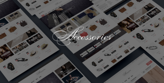 accessories responsive opencart theme