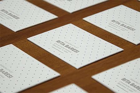 letterpress bcards perspective mockup