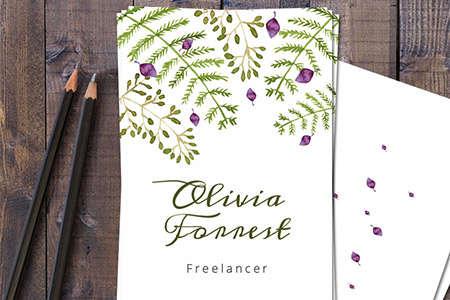 forrest business card