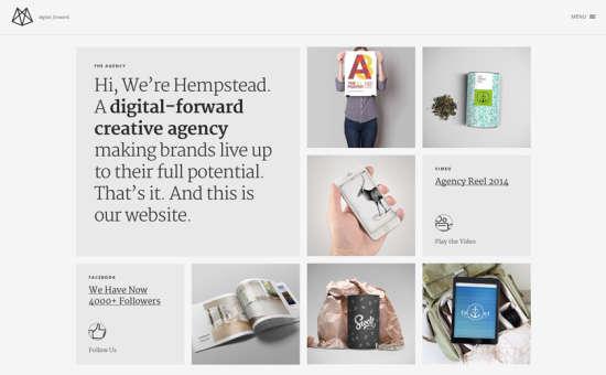 hempstead theme website