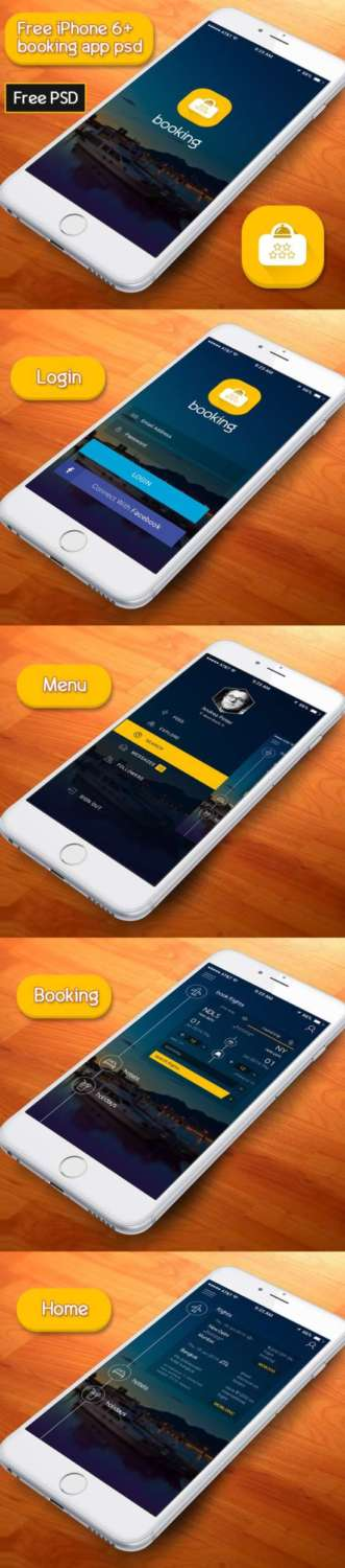 free_booking_app_psd_according_to_iphone_6