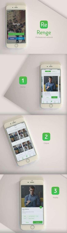 renge_free_iphone_app_ui_psd
