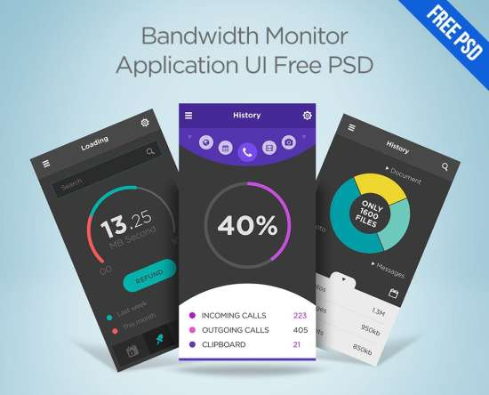 bandwidth_monitor_application_ui_psd