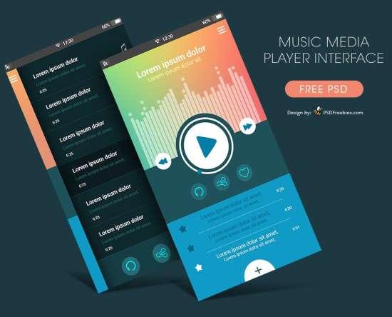 free_music_media_player_app_ui_psd