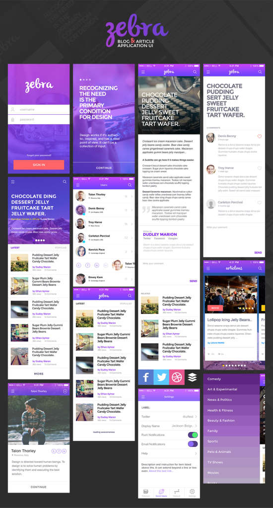 blog_and_article_app_ui_psd