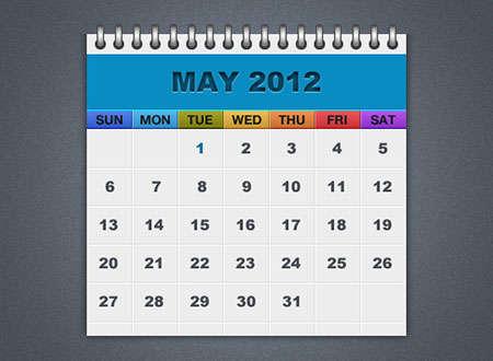 free-psd-calendar