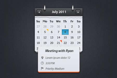 calendar-wtih-event-preview