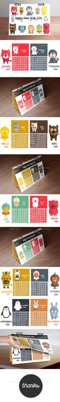 calendar-2016-(kid-desk-calendar-designing)