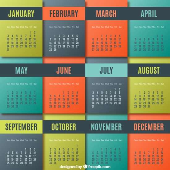 colored-geometric-calendar-psd