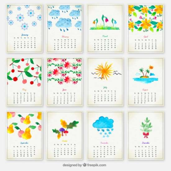 hand-painted-yearly-calendar-psd