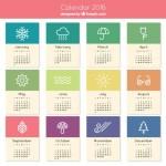 100+ PSD Calendar Design
