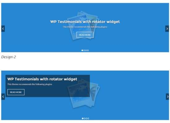 WP Responsive header image slider