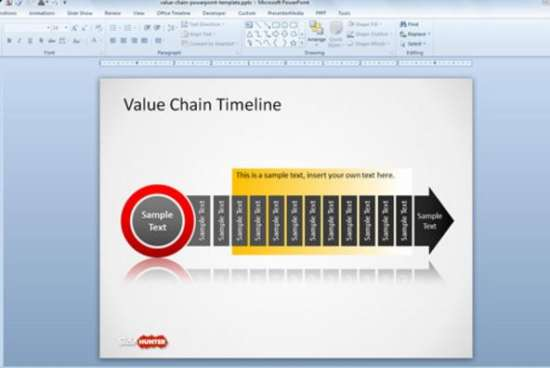 20 free timeline slides powerpoint templates ginva value chain timeline template for powerpoint toneelgroepblik Images