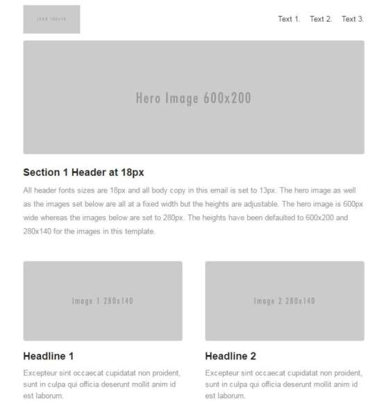 PostUp Free Responsive Email Template