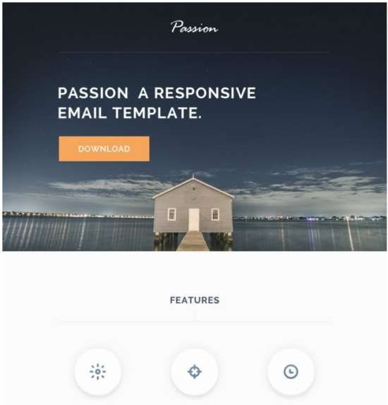 Passion – HTML Responsive Email Template