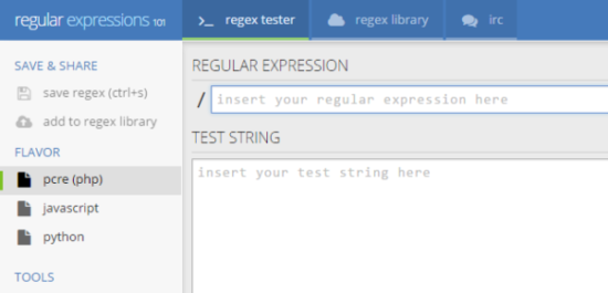 Regex Tools Tester Builder And Generator Ginva