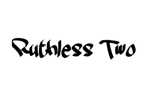 ruthless_two_font
