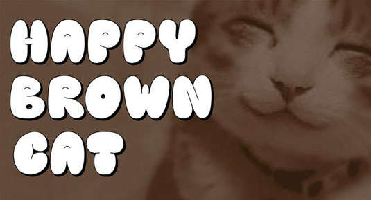 happy_brown_cat_font
