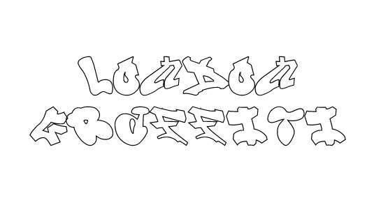 london_graffiti_font