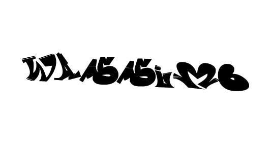 wassimo_graffiti_font