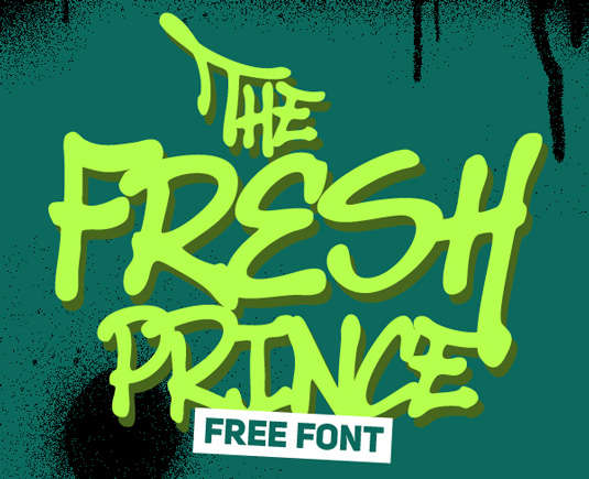 the_fresh_prince_font