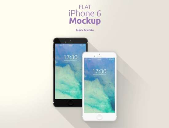 flat_iphone_mockup_black_white