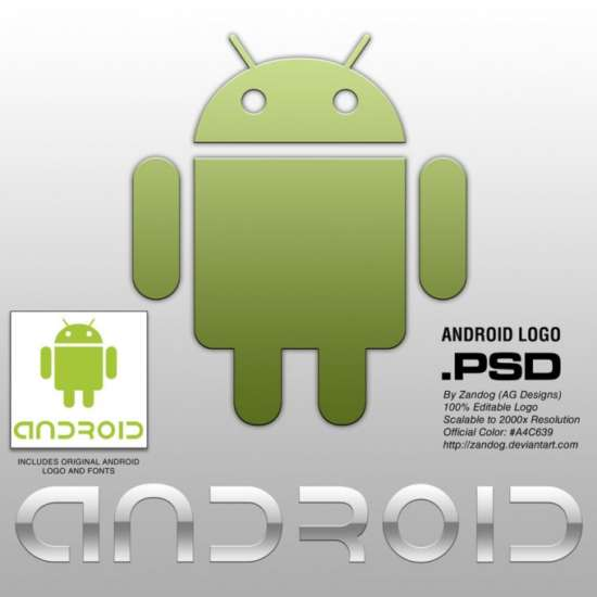 android_logo_hd_psd