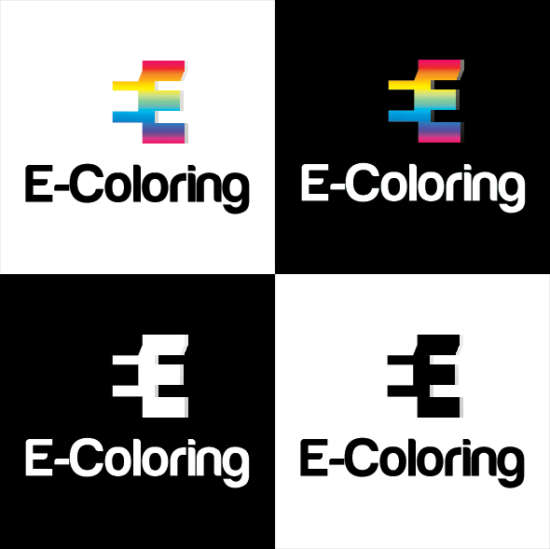 free_ecoloring_logo_template