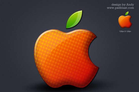 glossy_apple_logo