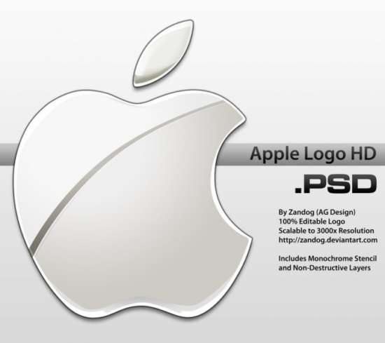 apple_logo_hd_psd