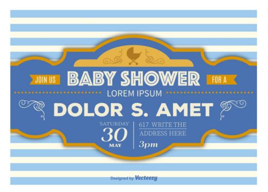 retro_baby_shower_announcement_banner