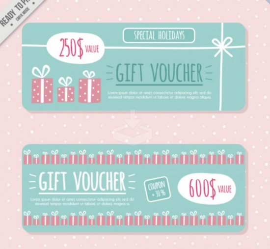 artistic_coupon_and_gift_voucher_banners
