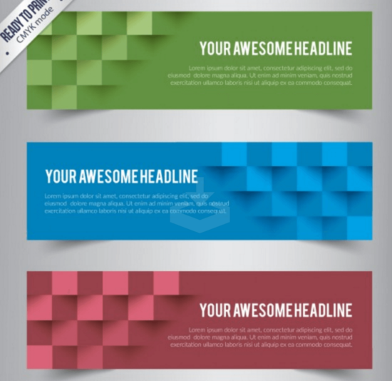 colorful_abstract_cubes_banners