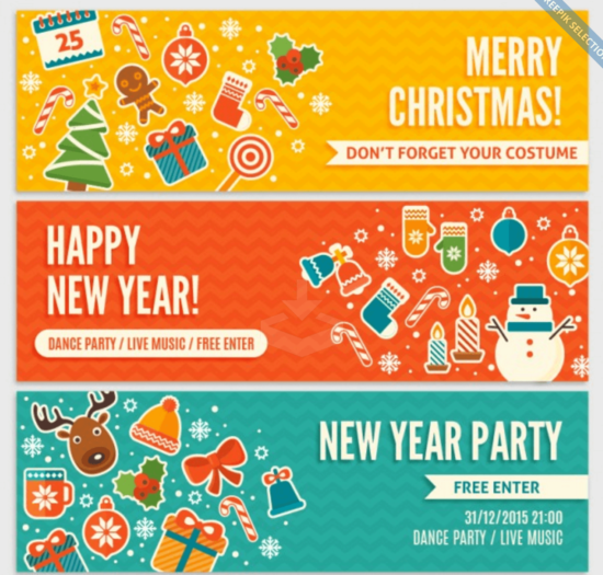 cute_invitation_for_christmas_banners