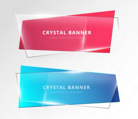 crystal_banner_free_psd