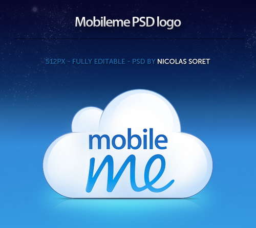 free_mobileme_logo_psd