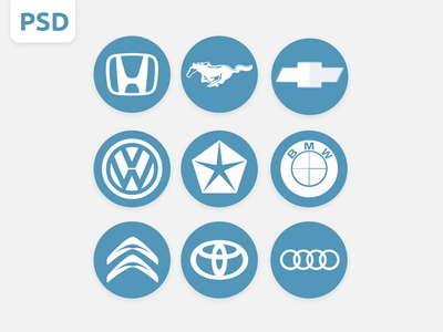 car_logos_psd