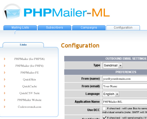 5 PHP Newsletter and Email Web Scripts | Ginva