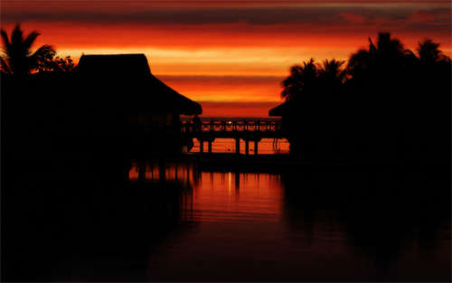 moorea_sunset