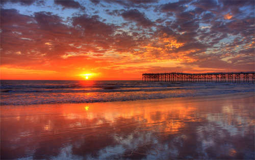 pacific_beach_sunset_background