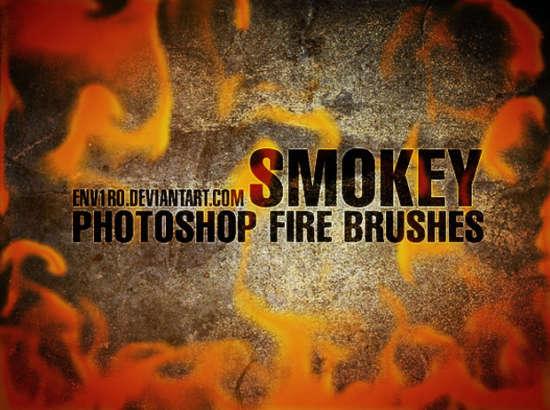 smokey_fire_brushes