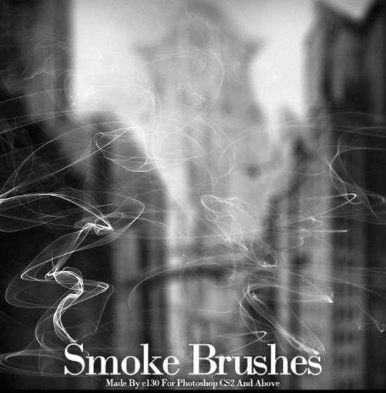 smoke_brushes_ps_set