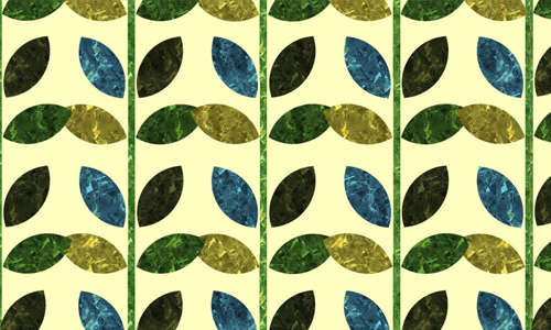 patterned_leaves_wallpaper