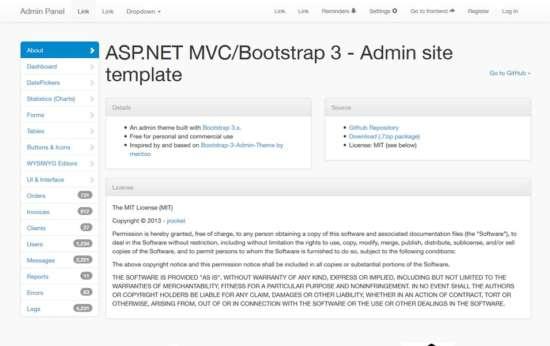 free_mvc_bootstrap_admin